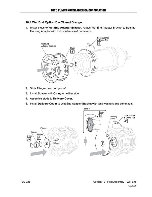 Heavy Duty Pump Technical Manual - Technical Writing and