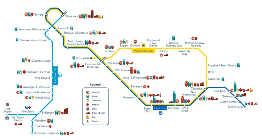 SkyTrain Infographic
